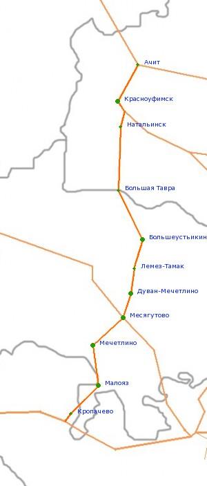 Дорога Самара Карта-схема автодороги Самара - Бузулук.  Пробки в Санкт-Петербурге и.